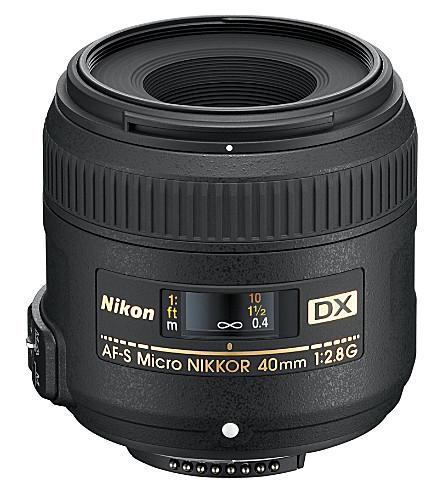 NIKON AF-S 40mm f/2.8G DX micro lens