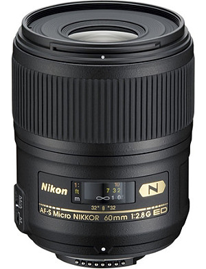 NIKON AF-S 60mm f/2.8G ED Micro NIKKOR lens