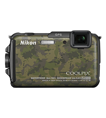 NIKON COOLPIX AW110 waterproof compact digital camera