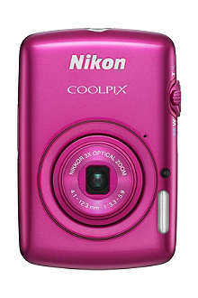 NIKON COOLPIX S01 ultra-compact digital camera
