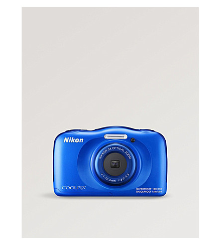 NIKON COOLPIX W100 digital camera (Blue