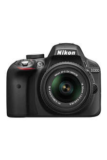 NIKON D3300 DSLR  camera and 18-55mm lens