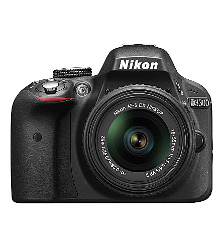 NIKON D3300 DSLR  camera and 18-55mm lens