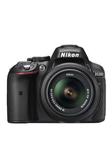NIKON D5300 digital SLR camera with lens