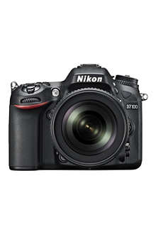 NIKON D7100 digital SLR with 18-105mm lens