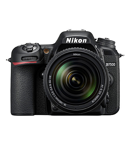 NIKON D7500 and AF18-140mm DSLR Kit