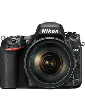 NIKON D750 DSLR camera kit with AF24-120mm lens