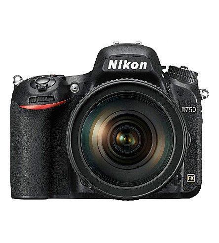 NIKON D750 DSLR camera kit with AF24-120mm lens