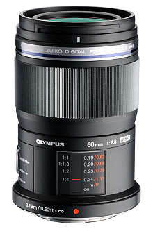 OLYMPUS M.ZUIKO DIGITAL ED 60mm 1:2.8 Macro lens