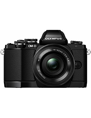OLYMPUS OM-D EM-10 digital camera Black