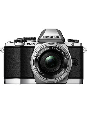OLYMPUS OM-D EM-10 digital camera Silver