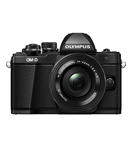 OLYMPUS E-m10 mk ii camera and lens