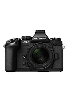 OLYMPUS OM-D E-M1 compact system camera 16MP with 12-40mm lens