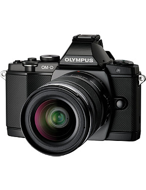 OLYMPUS OM-D E-M1 compact system camera 16MP with 12-50mm lens