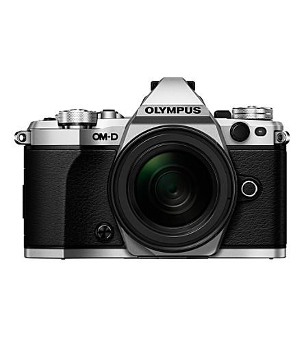 OLYMPUS OM-D E-M5 Mark II camera with AF 12-40mm lens