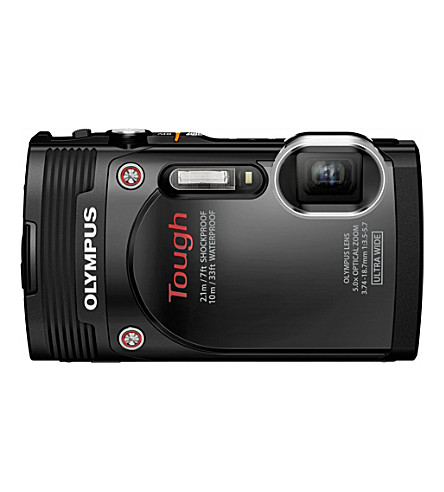 OLYMPUS TG-850 digital camera - black