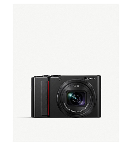 PANASONIC LUMIX TZ200 Digital Camera (Black