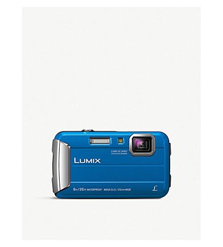 PANASONIC LUMIX FT30 Tough Compact Digital Camera (Aqua