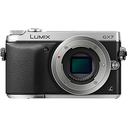 PANASONIC LUMIX DMC-GX7 compact camera with 18-55mm lens
