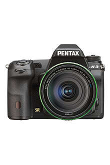 PENTAX K3 DSLR camera with AF18 - 135mm lens