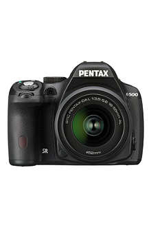 PENTAX K-500 digital SLR camera with 18-55mm lens