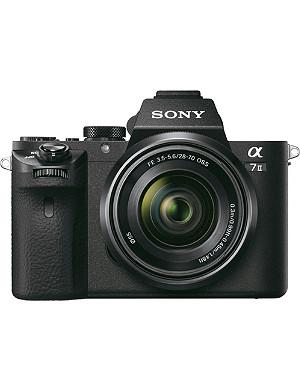 SONY a7 II digital camera and af28-70mm lens
