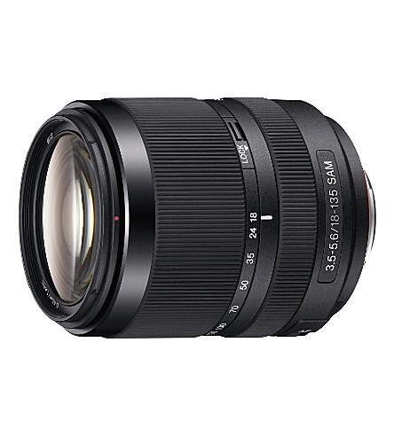 SONY AF18-136 f/3.5-5.6 lens