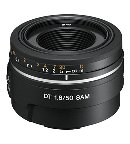 SONY DT 50mm F1.8 SAM Portrait Lens