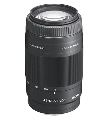 SONY 70-300mm F4-5.6 telephoto zoom lens