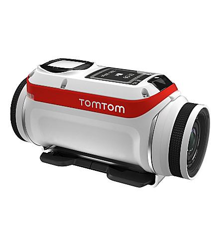 TOM TOM Bandit action camera bundle