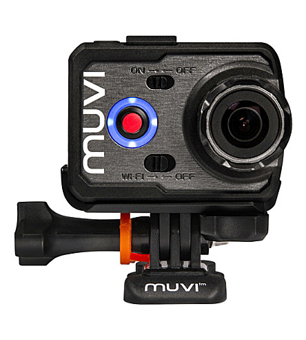 VEHO Muvi K-2 Sport WiFi action camera bundle