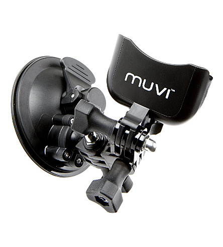 VEHO MUVI™ universal suction mount with cradle