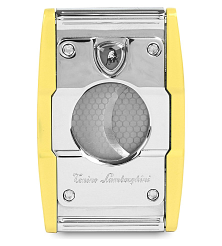 JAMES J FOX Lamborghini double-blade cigar cutter