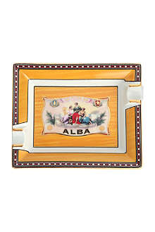 JAMES J FOX Elie Bleu Alba cigar ashtray