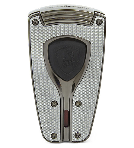 JAMES J FOX LAMBORGHINI FORZA LIGHTER CARBON FIBER