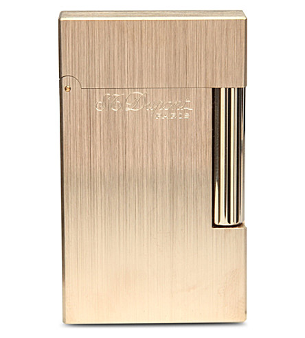 JAMES J FOX S.T. Dupont Ligne 2 Ateliers lighter (Brushedgold