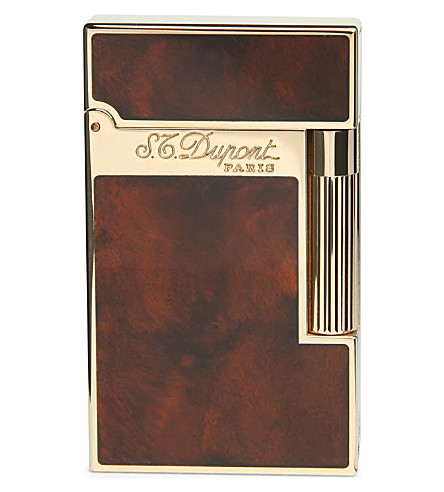 JAMES J FOX S.T. Dupont Ligne 2 Ateliers lighter (Lacquer+gold