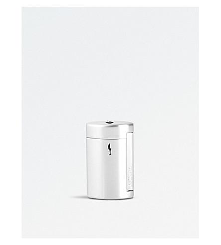JAMES J FOX S.T. Dupont Minijet 2 Brushed Chrome Lighter