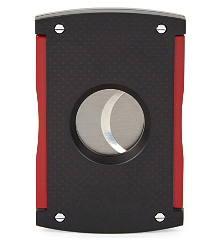 JAMES J FOX St Dupont maxijet matte lacquer cigar cutter