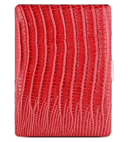 狐狸宇宙香烟盒红色蜥蜴 (红色 + 蜥蜴
