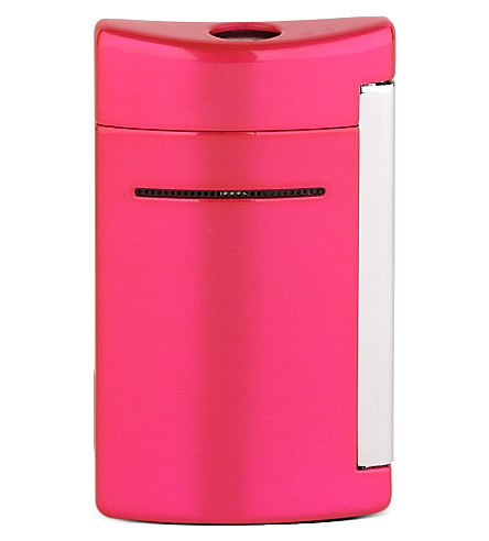 JAMES J FOX St Dupont Minijet lighter (Fushia+buzz