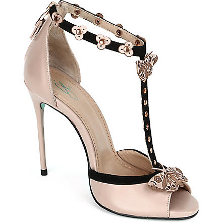 CJG SHOES Buenos Aires stiletto sandals (Nude