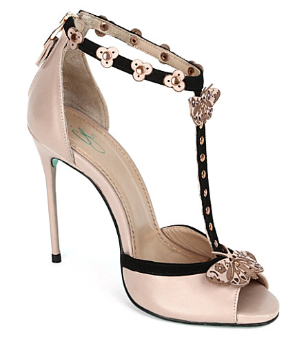 CJG SHOES Buenos Aires stiletto sandals (Nude