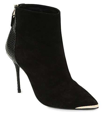 CJG SHOES Access All Areas stiletto ankle boots (Black