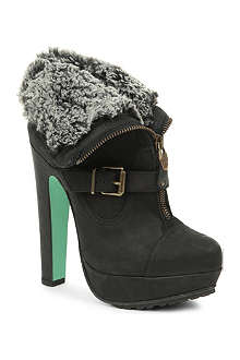 CJG SHOES Midnight Hour platform ankle boots