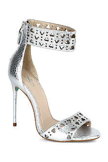 CJG SHOES Perforated stiletto sandals