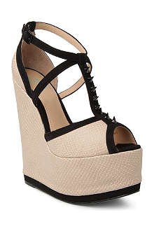 CJG SHOES Roll The Dice wedge sandals