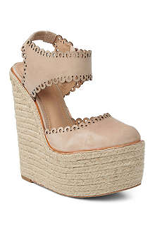 CJG SHOES Dreamcatcher suede espadrille wedges
