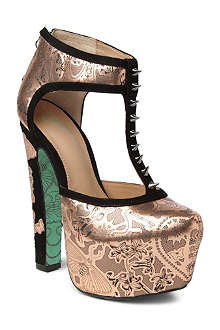CJG SHOES Pot Of Gold platform courts