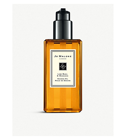 JO MALONE LONDON Lime Basil and Mandarin shower oil 250ml